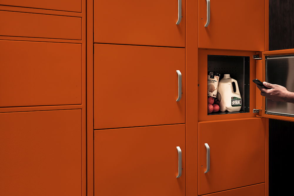 Refrigerated Package Locker