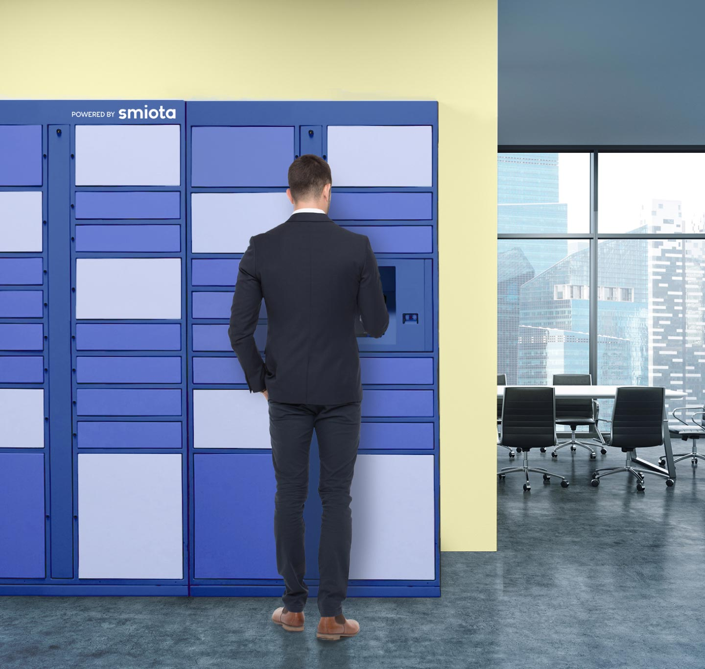 Set Your Commercial Development Apart with Smart Lockers